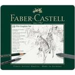 Faber Castell Pitt Graphite Zeichenset medium 19teilig