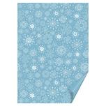 HEYDA Bastelkarton blau kristall 50x70cm 300g/m² Hot Foil