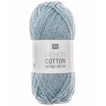 Rico Design Fashion Cotton Métallisé 50g 130m aquamarin