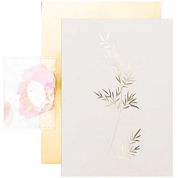 Paper Poetry Grußkartenset Jardin Japonais Bambus