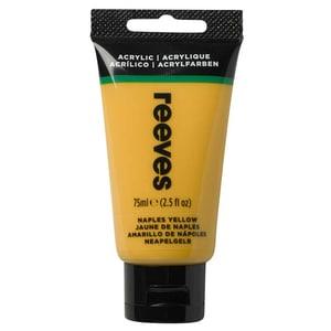 reeves Acrylfarbe 75ml neapel gelb