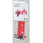 Paper Poetry Serviettenringe Jolly Christmas Classic 6 Stück
