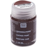 Rico Design Ledermalfarbe 20ml dunkelbraun