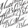 Winsor & Newton Kalligraphietusche 30ml matt-schwarz