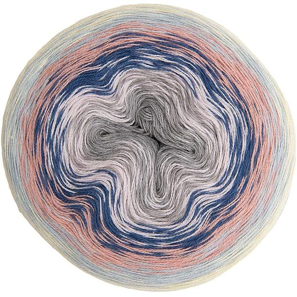 Rico Design Creative Cotton Dégradé Super6 200g 800m pastell Mix