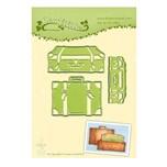 DECOHOBBY Stanz- und Prägeschablone Koffer