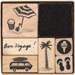 Paper Poetry Stempelset Bon Voyage 6 Stück