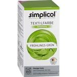 simplicol Textilfarbe intensiv 150ml frühlingsgrün