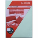 Artoz Kuvert S-Line C6 100g/m² 5 Stück pastellgrün