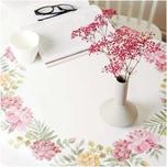 Rico Design Stickpackung Decke Chrysanthemen 90x90cm