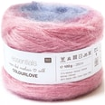 Rico Design Essentials Super Kid Mohair Loves Silk Colourlove 100g 280m pink