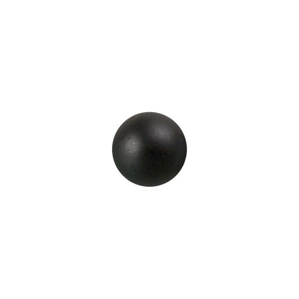Rico Design Renaissanceperle 3mm 120 Stück schwarz matt