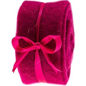 Dekoband Filz 5x200cm pink