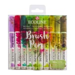 ECOLINE Brush Pen Set 10 Stück Botanic