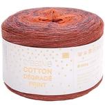 Rico Design Creative Cotton Dégradé Print 200g 800m rot-orange