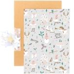 Paper Poetry Grußkartenset Jolly Christmas Pastell
