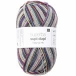 Rico Design Superba Supi Dupi 4-fädig 100g 400m lila Mix