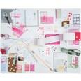 Paper Poetry Motivpapier Block Graphic 21x30cm 30 Blatt Hot Foil