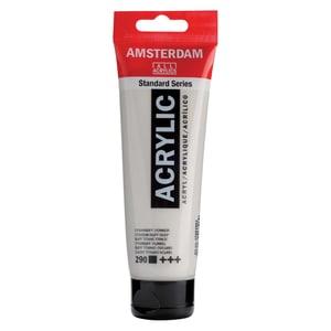 AMSTERDAM Acrylfarbe 120ml titanbuff dunkel