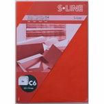 Artoz Kuvert S-Line C6 100g/m² 5 Stück rot