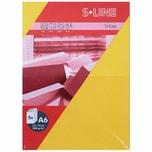 Artoz Doppelkarte S-Line A6 200g/m² 5 Stück gelb