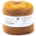 Rico Design Essentials Super Kid Mohair Loves Silk Colourlove 100g 265m gelb
