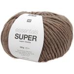 Rico Design Essentials Super super chunky 100g 90m taupe