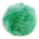 Rico Design Kunstfellbommel 10cm grün