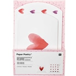 Paper Poetry Geschenkschachteln It must be love Herzen aquarell 6 Stück