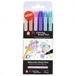 Koi Coloring Brush Pens Sweets 6teilig