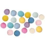 Rico Design Filz-Kugelmix 1,5cm 20 Stück Pastell Mix
