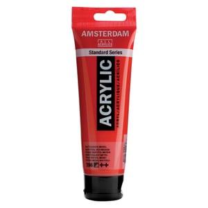 AMSTERDAM Acrylfarbe 120ml naphtholrot mittel