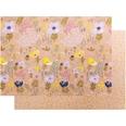 Paper Poetry Motivkarton Crafted Nature Blumen rosa 50x70cm