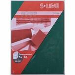 Artoz Passepartout-Karte S-Line B6 200g/m² 5 Stück oval tannengrün
