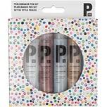 Rico Design Perlenmaker Pen Set glitter 6x30ml