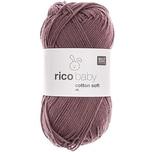 Rico Design Baby Cotton Soft dk 50g 125m pflaume
