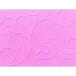 Marpa Jansen Prägekarton Arabesken 50x70cm 220g/m² rosa