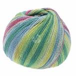 Lana Grossa Meilenweit 100 Cotton Bamboo Butterfly 100g 420m multicolor