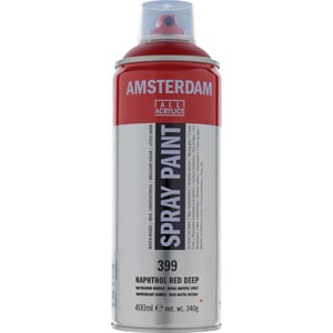 AMSTERDAM Spray 400ml naphtholrot dunkel