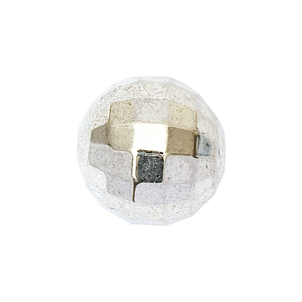 Jewellery Made by Me Facettenkugel silber 12mm 5 Stück