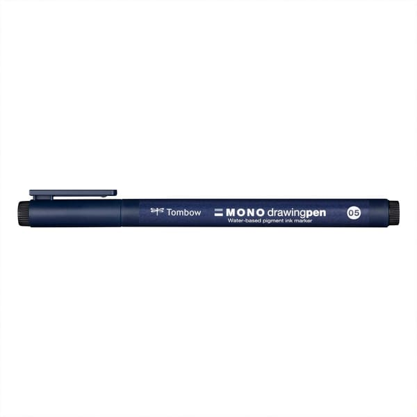 Tombow Fineliner MONO drawing Pen 0,5mm