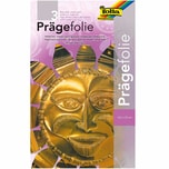 folia Prägefolie 18,5x29,5cm 3 Bogen gold