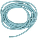 Rico Design Lederband 2mm 1m hellblau