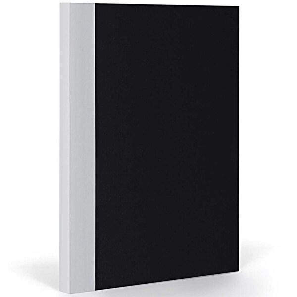 FANTASTICPAPER Notizbuch XL liniert black-coolgrey