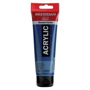 AMSTERDAM Acrylfarbe 120ml grünblau