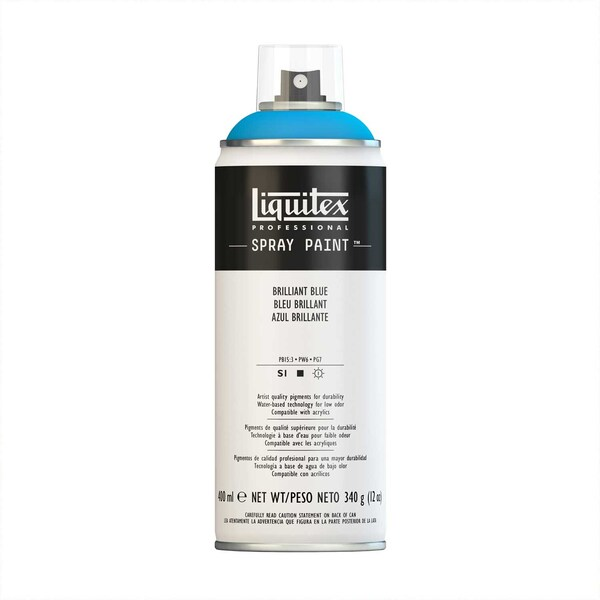 Liquitex Acrylspray 400ml brillantblau