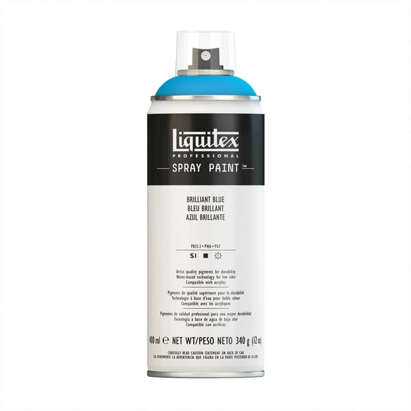 Liquitex Acrylspray 400ml brillantblau