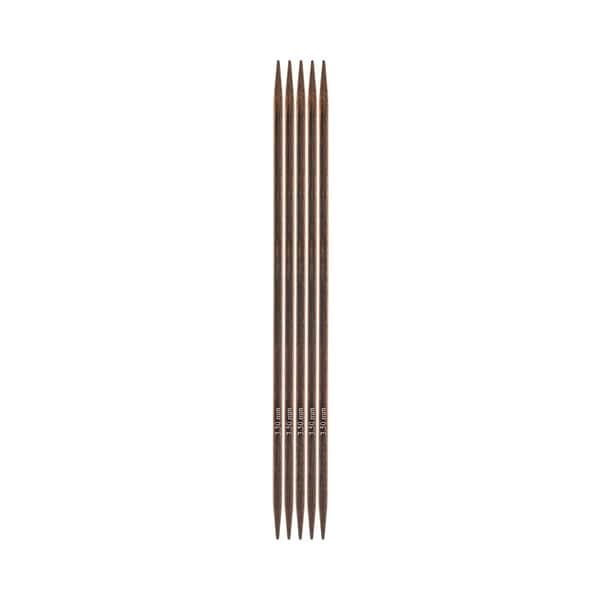 KnitPro Nadelspiel 15cm Birkenholz 3,5