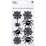 Paper Poetry Glittersticker Spinnen