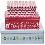 Rico Design Keksdosen weihnachtlich 3er Set